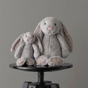 低至8.3折 €27.81收邦尼兔Jellycat 软萌网红小兔叽 快快把她抱回家