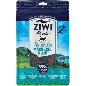 Ziwi Peak Air-Dried Mackerel & Lamb Cat Food, 14-oz