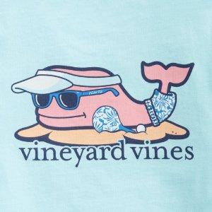 特价区额外5折+新品7折最后一天:Vineyard Vines 儿童服饰亲友特卖会 T恤$12.99起