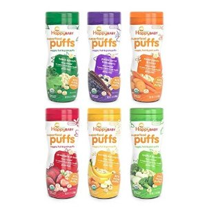 $13Happy Baby Organic Superfood Puffs, Variety Pack, 2.1 Ounce (Pack of 6) @ Amazon