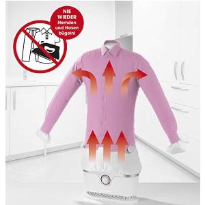 原价129.95欧,折后79.9欧CLEANmaxx二合一 衬衫+裤子熨烫机