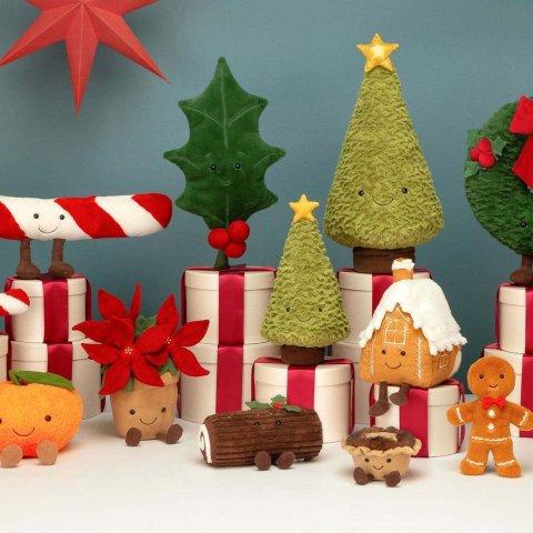 直接8折 €18收小号Jellycat 网红断货王圣诞树打折啦 快pick一棵属于你的软萌精