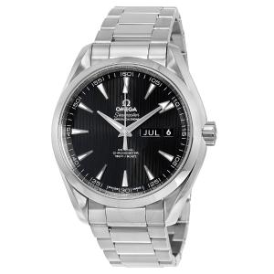 EXTRA $800 OFFOMEGA  Aqua Terra Annual Calendar Automatic Black Dial Men's Watch 231.10.43.22.01.002