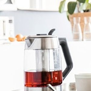 折后€67.9 沏一壶好茶SEVERIN 养生壶电茶壶热促 带茶叶滤网 温度可调