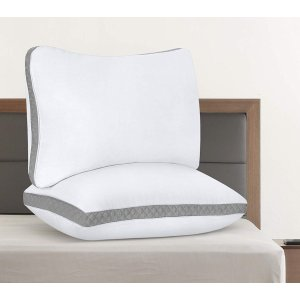 $26.34 (原价$30.99)Utopia Bedding 舒适软枕2件套  Queen Size