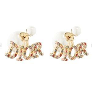 £520收封面新款耳环Dior 精美配饰上新 收新款LOGO耳环等大热款