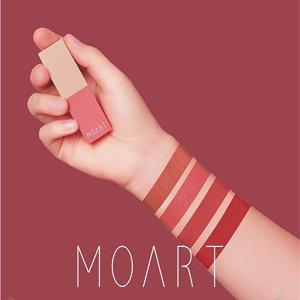 MOART Velvet Lipstick 3.5g MLBB Lipstick (R2 Cotton Rose)
