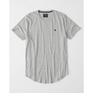 Abercrombie & FitchPrice After PromotionMens Curved Hem Icon Crew | Mens | Abercrombie.com