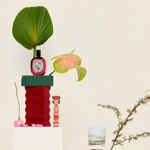 罕见直降8.5折 玫瑰发喷£35Diptyque蒂普提克香水、身体护理闪促!部分款定价优势!