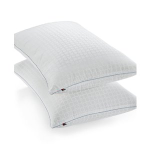 Tommy HilfigerHome Corded Classic Down Alternative Pillows, Hypoallergenic SupraLoft™ Fiberfill