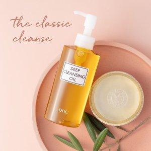全线7.5折 €10收明星3件套DHC 日本口碑护肤 经典卸妆油、橄榄护唇膏 超值套装也在线