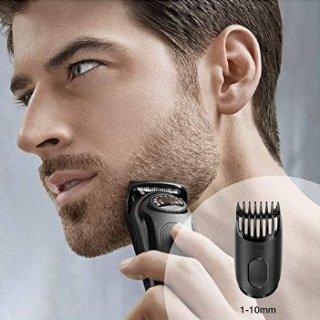 $17.99 (原价$24.99)Braun BT3020男士胡须修剪器 尺寸调节带造型梳