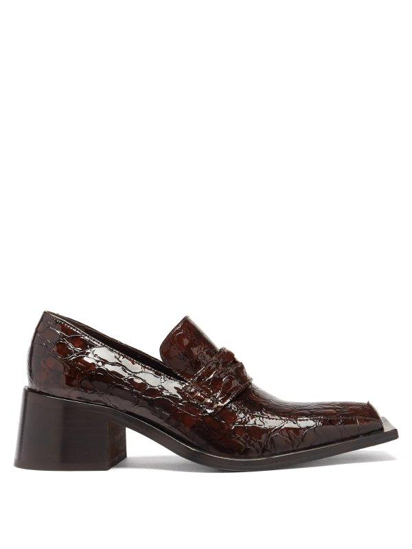 Bagleys方头乐福鞋