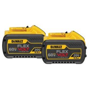 DEWALT DCB6092 鋰電子電池2件套