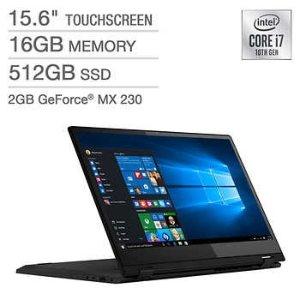 黑五价:Lenovo Flex 15 变形本 (i7-10510U, MX230, 16GB, 512GB)