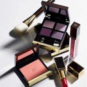 满额享8.5折Tom Ford 彩妆产品促销 收限量款唇膏