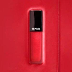 Chanel炫彩印记哑光唇釉