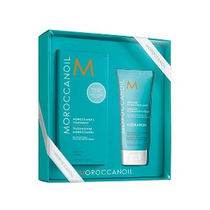 Moroccanoil Treatment 125ml With Hydrating Mask 礼盒套装
