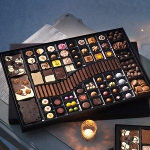 无门槛5折 £6收礼盒Hotel Chocolat英国高端巧克力 你这么甜一定吃了很多巧克力