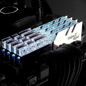 $159.99G.SKILL Trident Z Royal 16GB (2 x 8GB) DDR4 3200 C16 Kit