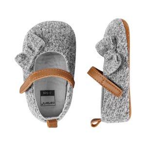 Carter's买两双6折,三双5折,可混搭婴儿玛丽珍软底鞋