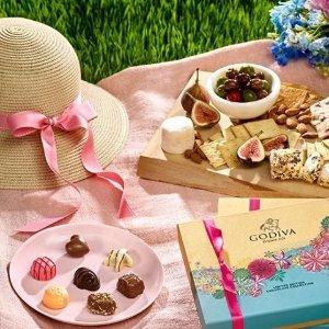 清仓区低至3.4折+低包邮门槛最后一天:Godiva 母亲节礼物推荐 9颗巧克力礼盒$8.5收