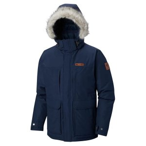 Columbia男款连帽保暖夹克