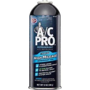 $17.98A/C Pro High Mileage Auto Air Conditioner Refrigerant, 134A, 12oz