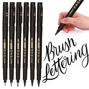 $9.34(原价$18.99)闪购:MISULOVE 毛刷书写笔