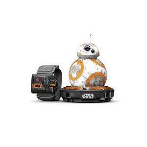 $49.99(原价$79.99)Sphero 星球大战 BB-8 遥控机器人 + 原力手环 特别版