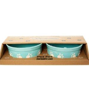 低至4折 £9.99收碗套装TKMAXX 宠物用品专场 白菜价食碗、舒适猫窝、太空背包