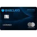 Earn unlimited 2X miles on every purchase Barclays Arrival® Premier World Elite Mastercard®