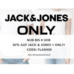 低至4.4折Jack & Jones 全站7折,包括折扣商品