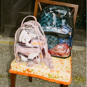 Urban Outfitters Herschel Supply Co. Clear Backpack