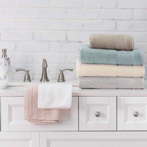 $29.99 ($39.99)Welhome Hudson 100% Pure Organic Cotton Quality 6 Piece Luxury Bath Towel Set