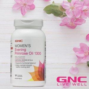 低至$8.99+变相8折GNC 女性必备保健品折上折,收胶原蛋白、月见草油