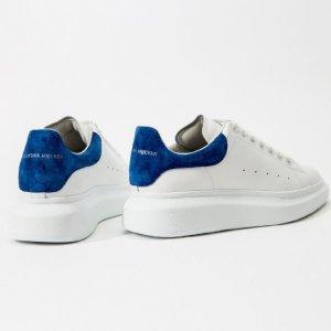 $550收 镭射、星空、彩虹尾Alexander McQueen X SSENSE 独家款小白鞋再上新