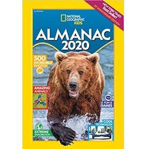 $7.49国家地理儿童版 2020年历书