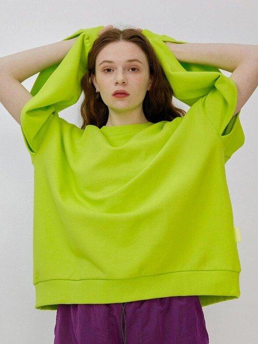 荧光绿卫衣