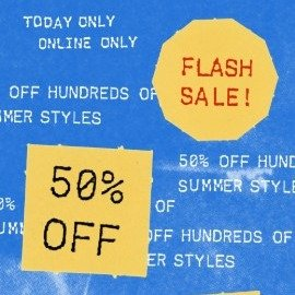 Today Only: 50% Off Flash SaleHundreds Of Summer Styles @ Urban Outfitters