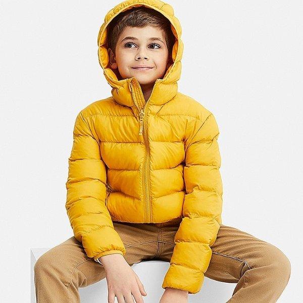 男童超轻保暖外套,多色选