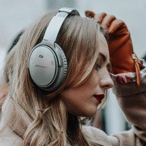 低至5折 £150收Soundlink RevolveAmazon 精选Bose耳机音响热卖 旗舰款降噪耳机热卖