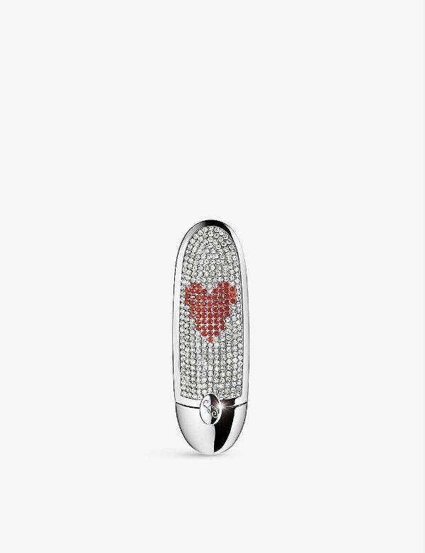情人节限定 宝石口红壳