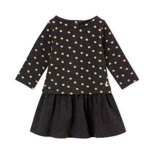 Petit Bateau女婴连衣裙