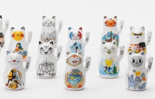 2020奥运收藏 招财猫东京限量套组2020奥运收藏 招财猫东京限量套组