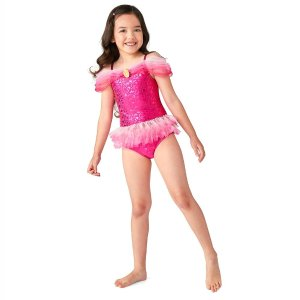 DisneyAurora Costume Swimsuit for Girls | shopDisney