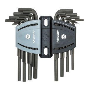 $9Husky SAE/Metric Long Arm Hex Key Set (26-Piece)