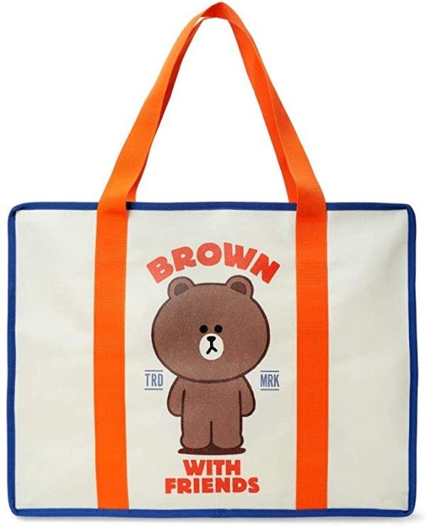布朗熊 tote包