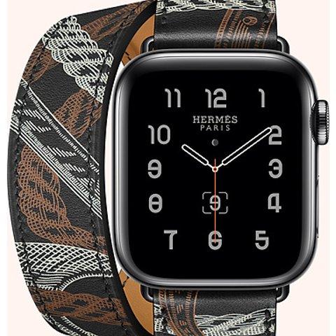 爱马仕最便宜的表Apple Watch 5 x Hermes 联名表带 定制款