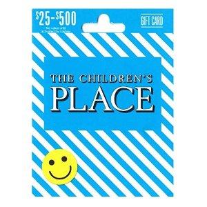 $40The Children's Place 童装店面值$50礼卡